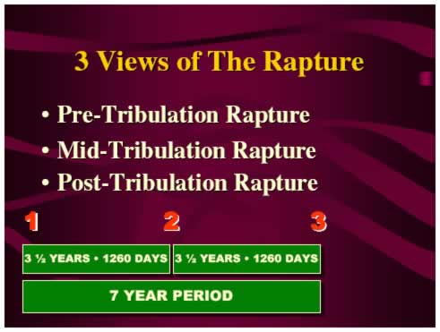 3 Views of the Rapture