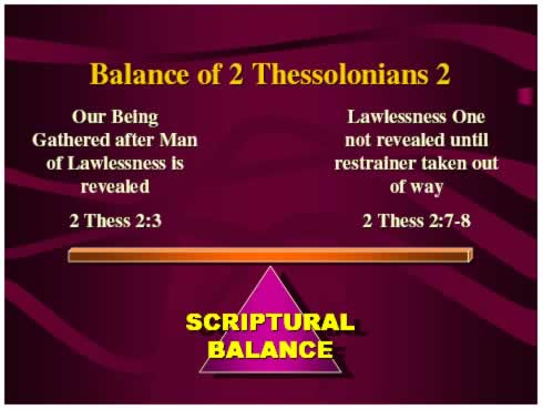 balance of 2 Thess 2