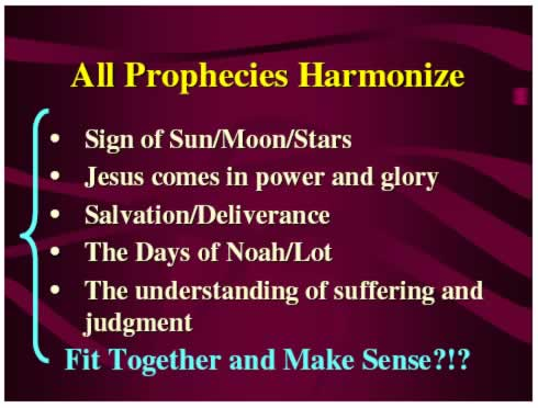 Prophecies Make Sense?