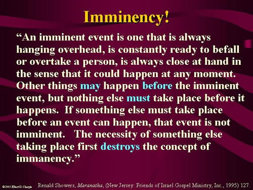Imminency Definition