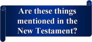 In the New testament?