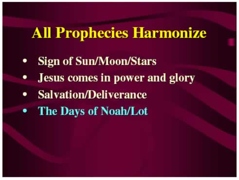 All Prophecies Harmonize?