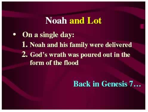 Noah and Lot