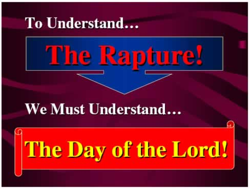 Undertsand Rapture - Undertsand Day of the Lord