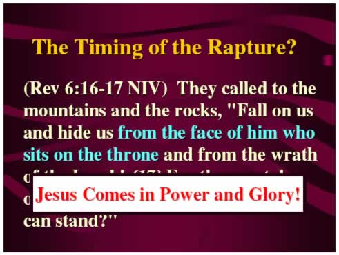 Jesus Comes in Power